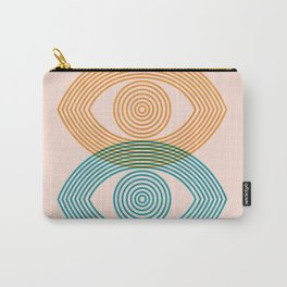 Abstraction_EYES_Minimalism_POP_ART Carry-All Pouch