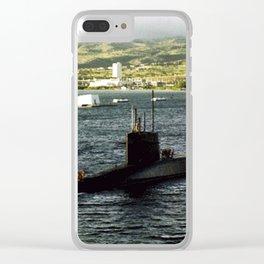 USS THOMAS A. EDISON (SSBN-610) Clear iPhone Case