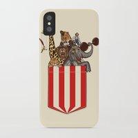 pocket iPhone & iPod Cases featuring Pocket Circus by Sachpica