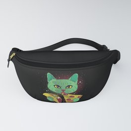Pizza Taco Cat Fast Food Cats Owner Gift Fanny Pack