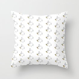 Some'bunny' Loves you...LOTS! Throw Pillow