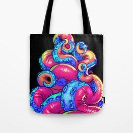Tentacle Demoness (PINK version) Tote Bag