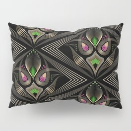 Art Deco 35 . Mystic . Pillow Sham