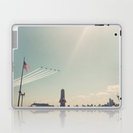 Blue Angel Jets Flying Color Photo Laptop & iPad Skin