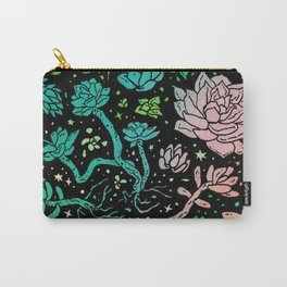 Succulent Supercluster Carry-All Pouch