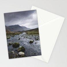 Rain clouds. Gatesgarth, Cumbria, UK. Stationery Cards