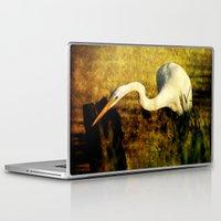 fishing Laptop & iPad Skins featuring Fishing by JMcCool