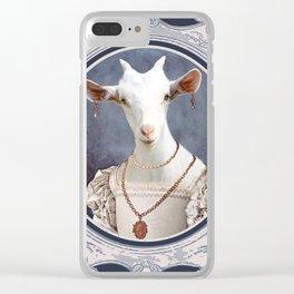 Biquette Coquette Clear iPhone Case
