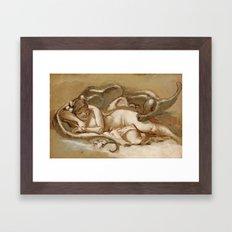 Le Sommeil Framed Art Print