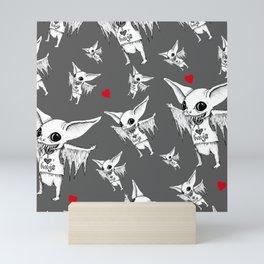 Huggy Bat Mini Art Print