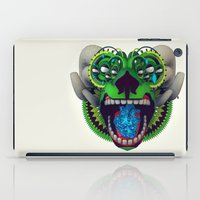 mythology iPad Cases featuring Artificial Mythology by Diligence