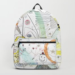 A Family Collaboration - 'No Place Like Home' Backpack