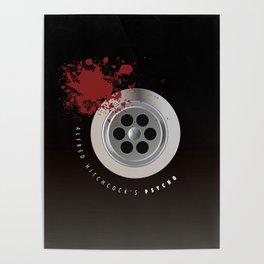 Psycho - Alternative Movie Poster Poster