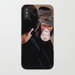 I know you somehow !? iPhone Case