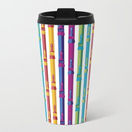 Color Your World Metal Travel Mug