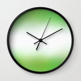 Flag of nigeria 6 - with cloudy colors Wall Clock