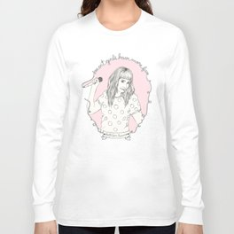 Smart Girl - Kathleen Hanna Long Sleeve T-shirt