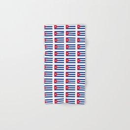 Flag of Cuba 2 -cuban,havana, guevara,che,castro,tropical,central america,spanish,latine Hand & Bath Towel