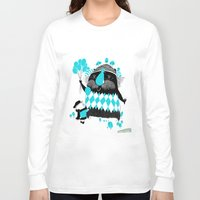 balloons Long Sleeve T-shirts featuring Balloons by David Pavon