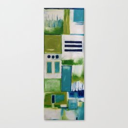 Yoga Mat Canvas Print