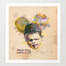 Micky kid. Art Print