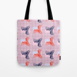 Bat goes 80s Tote Bag