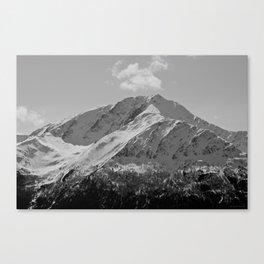 Snowy Alaskan Mountain Canvas Print