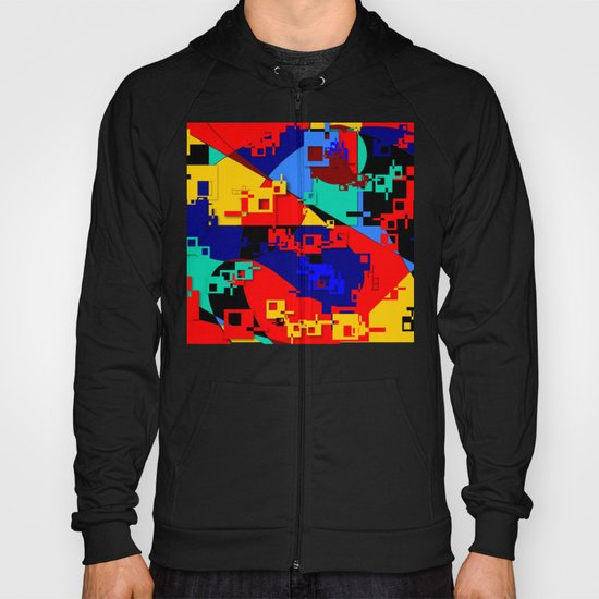 Key Lock Abstract Hoody