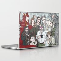 hobbit Laptop & iPad Skins featuring Hobbit Party by enerjax