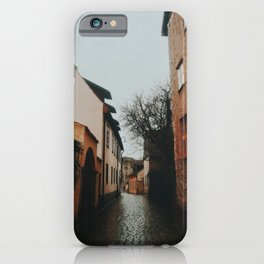 Cobblestone Streets of Visby, Island of Gotland, Sweden  iPhone Case