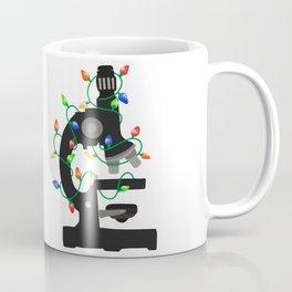 Christmas Microscope Coffee Mug