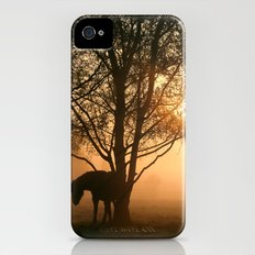 Silhouette of a horse Slim Case iPhone (4, 4s)