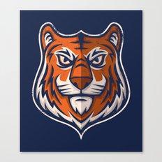 Tiger Shield Canvas Print