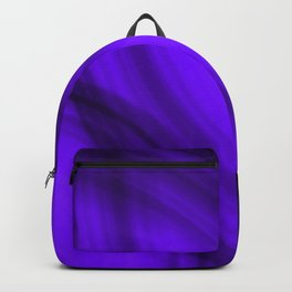 Ellipse shaded blackberry curved lines with blurred ovals of bright rings. Backpack