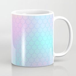 Rainbow Mermaid Abstraction Coffee Mug