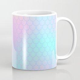 Rainbow Mermaid Abstraction Coffee Mug