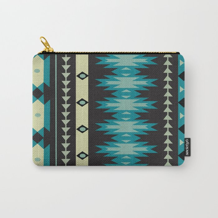 American Native Pattern No. 40 Carry-All Pouch