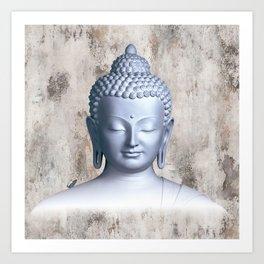 Μy inner Buddha Art Print