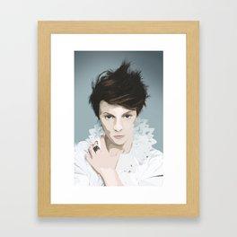 La Roux Framed Art Print