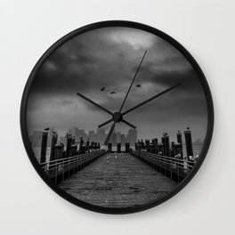 Liberty Island Wall Clock