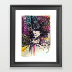 Early Morning Sketch Framed Art Print
