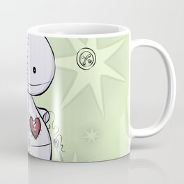 Mended Heart, Tiny Ragdoll Coffee Mug