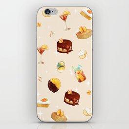 Orange Desserts iPhone Skin