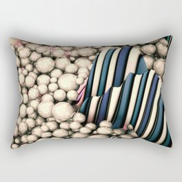 Abstract spheres Rectangular Pillow