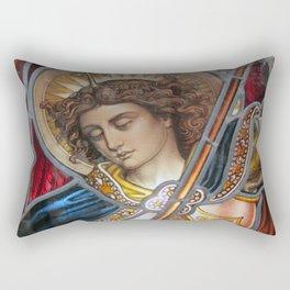 Angel in Glass Rectangular Pillow