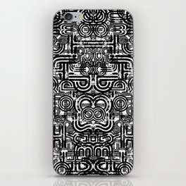 Disorganized Speech #5 iPhone Skin