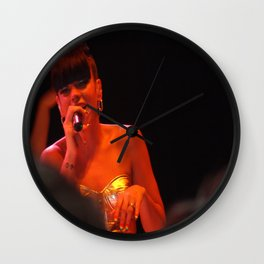 Lilly Allen Wall Clock