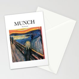 Munch - The Scream Stationery Cards