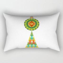 Eye of the Sun Rectangular Pillow