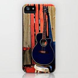 Guitar Sunset iPhone Case